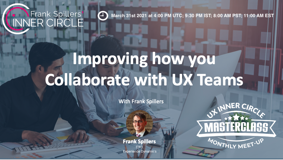 improving UX team collaboration.