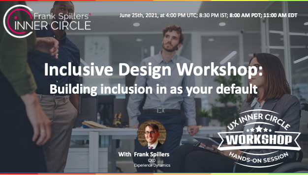 inclusive design- team of all races meeting